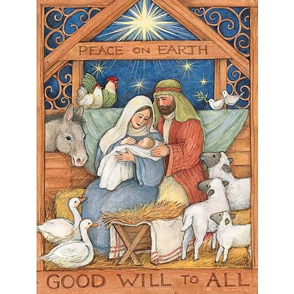 Good Will to All Christmas Cards by Lang | Little Green Apple