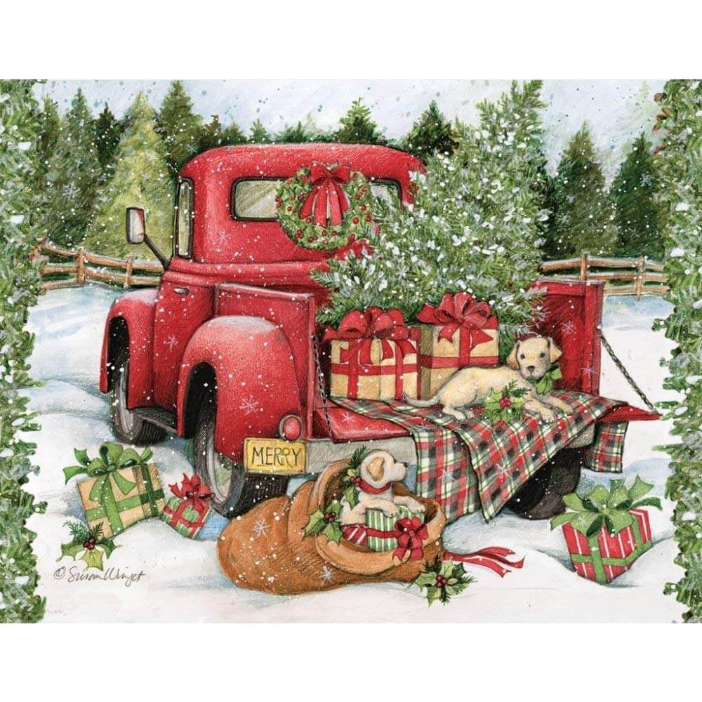 Christmas Journey, Assorted 2-Set Christmas Cards by Lang | Little ...