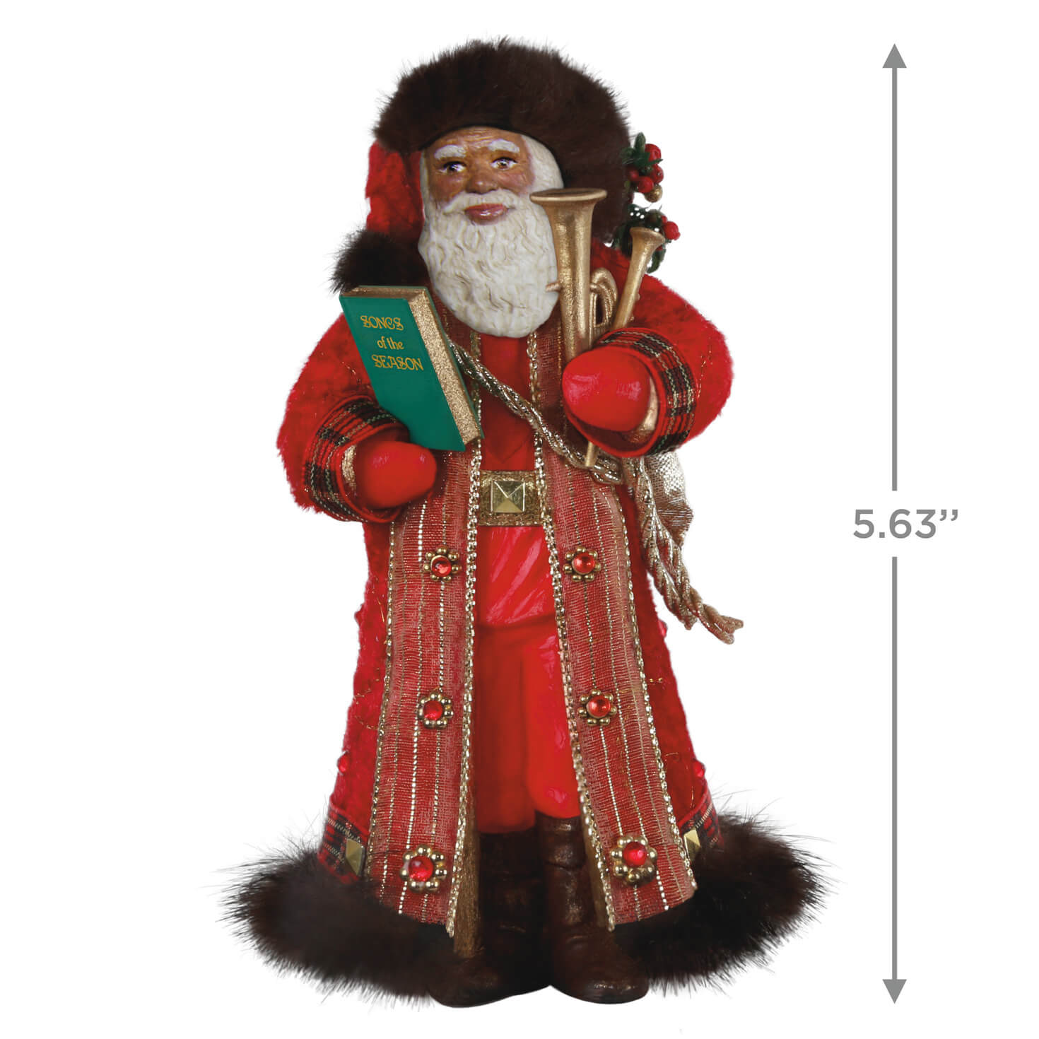 Father Christmas 2020 Hallmark Keepsake Ornament – Little ...