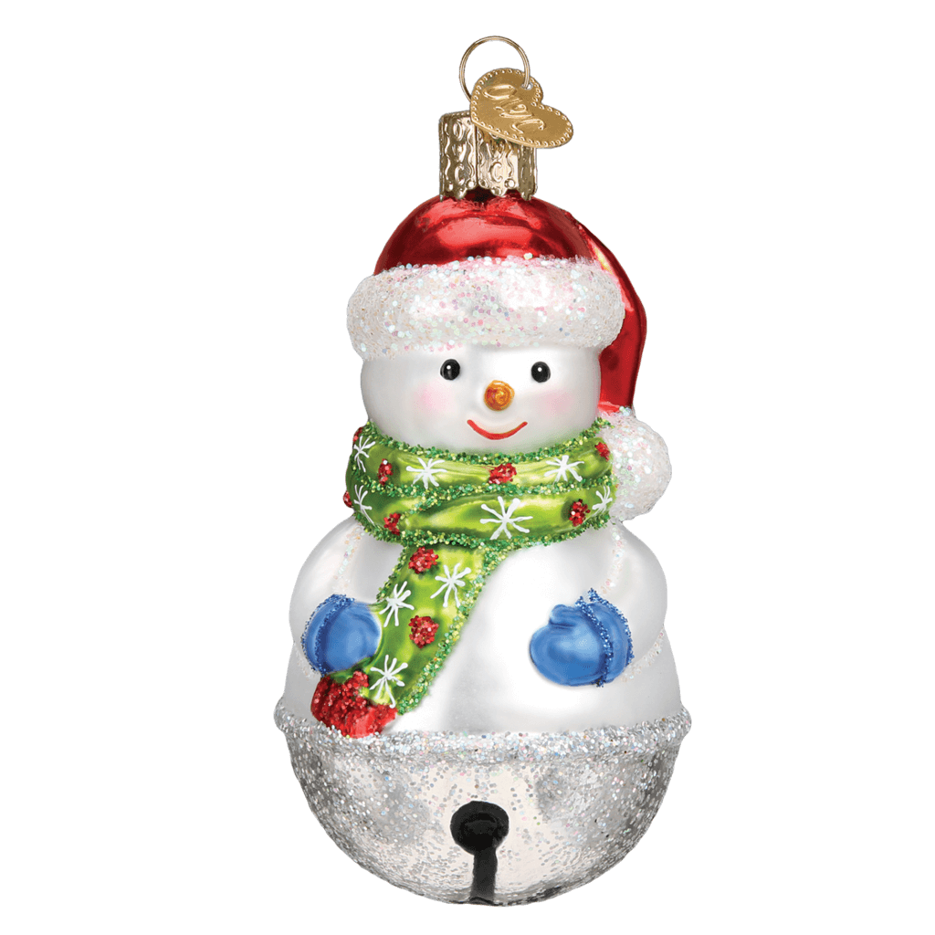Jingle Bell Snowman Ornament by Old World Christmas – Little Green Apple